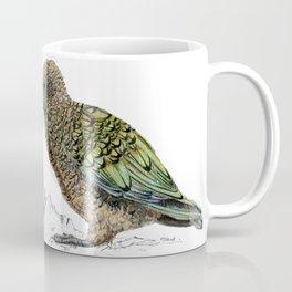 Mr Kea, New Zealand parrot Coffee Mug