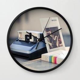 Never Ending Polaroid Wall Clock