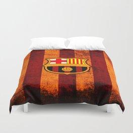 football team catalunya Duvet Cover