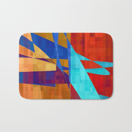 flash flood Bath Mat