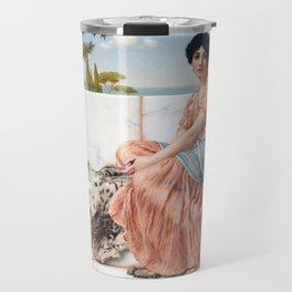 John William Godward Reverie Travel Mug
