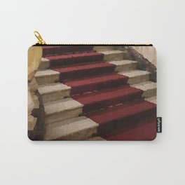 Stairs with red carpet Carry-All Pouch