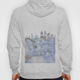 Mumbai Skyline India Hoody