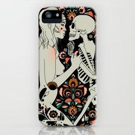 Grit, Pain, Love iPhone Case