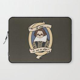 To Sleep or Not To Sleep Laptop Sleeve