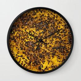 Toasted Honey Wall Clock