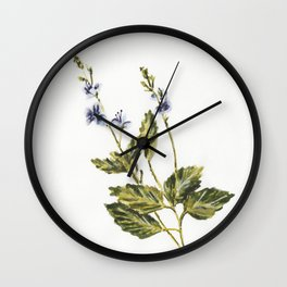 Veronica chamaedrys Wall Clock