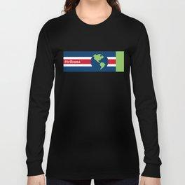 #Tribuna Costa Rica y el mundo Long Sleeve T-shirt