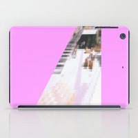 cafe iPad Cases featuring cafe by ONEDAY+GRAPHIC