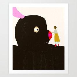 Friends will be friends Art Print