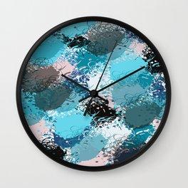 Abstract pattern 68 Wall Clock