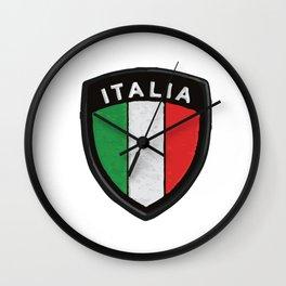 italian hemblem Wall Clock