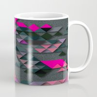 the thing Mugs featuring One Thing by Bakmann Art