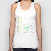 periodic table Tank Tops featuring table by Pola Popova