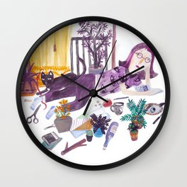 The Holiday Wall Clock