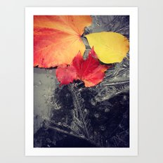 Autumn Breath Art Print