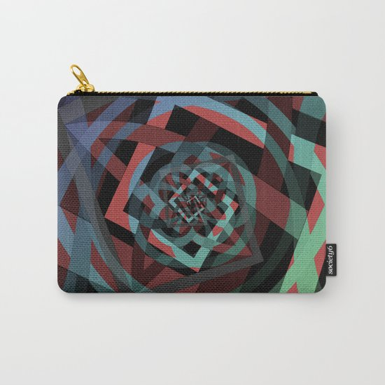 Celtic Droste Pattern Carry-All Pouch