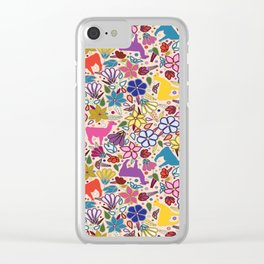 Peruvian Llamas Clear iPhone Case