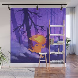 Wildfire Wall Mural