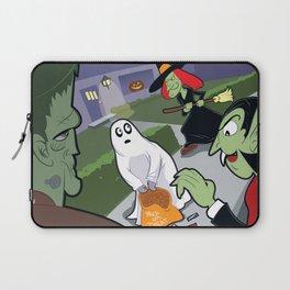 Trick or Treat Trauma Laptop Sleeve