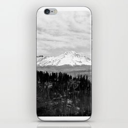 Mount Shasta, and neighboring mountain Shastina, Siskiyou County, ca.1900-1940 iPhone Skin