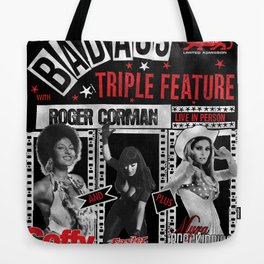 Triple Feature Tote Bag