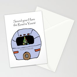 Airstream - Sound Your Horn the Road is Yours! Stationery Cards