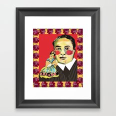 frida and diego Framed Art Print