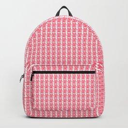 flower garden - Korean alphabet Backpack