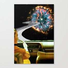 On the Road to the Akashic Library Canvas Print