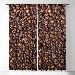 Coffee Bean Scene Blackout Curtain