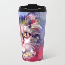 Meow's New Muffler Travel Mug