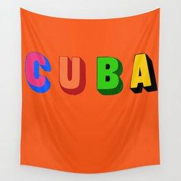 Cuba 3 Wall Tapestry