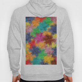 Tropical Fan Palm Paradise – Colorful #05 Hoody