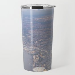 London From The Air Travel Mug