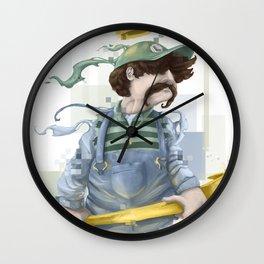 Luigi The Great Wall Clock