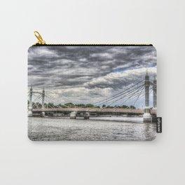 The Albert Bridge London Carry-All Pouch