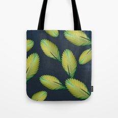 Tillandsia in dark blue Tote Bag