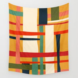 Variation of a theme Wall Tapestry