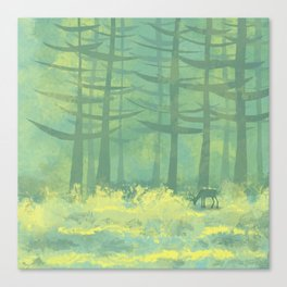 The Clearing Canvas Print