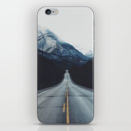 Mountain Road #forest iPhone Skin
