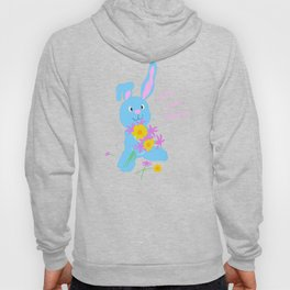 Scout with Flowers: Find Your Hoppy! Hoody