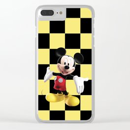 Mickey Mouse III Clear iPhone Case