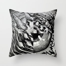 Immortal Throw Pillow