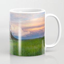 Scottsbluff - Landscape in Evening Light in Western Nebraska Coffee Mug
