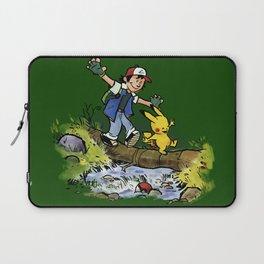 Ash & PlKACHU Laptop Sleeve