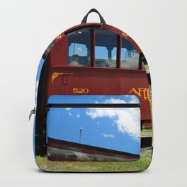 Red Railroad Car - Cumbres And Toltec Backpack