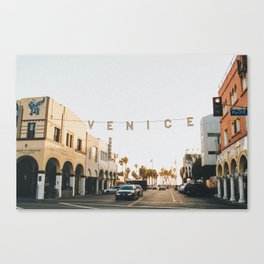 venice / los angeles, california Canvas Print