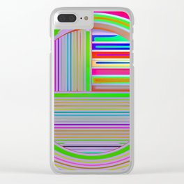In the colorful focus 2 Clear iPhone Case
