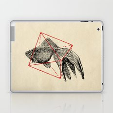 Fish In Geometrics III Laptop & iPad Skin